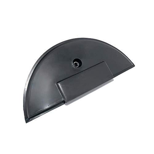 Rueda de Reserva Protectora/página Campana, 10'Neumáticos para Vespa px80–200/PE/Lusso/T5de plástico, Negro, SIN Tornillo