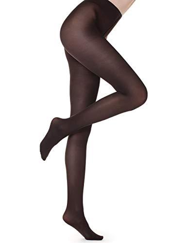 Calzedonia Damen Blickdichte Strumpfhose mit Seidenfinish