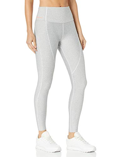 Maaji Women's Recycled Eco-Friendly Dazzling Mid Rise 7/8th Length Legging, Cloud Gray,...