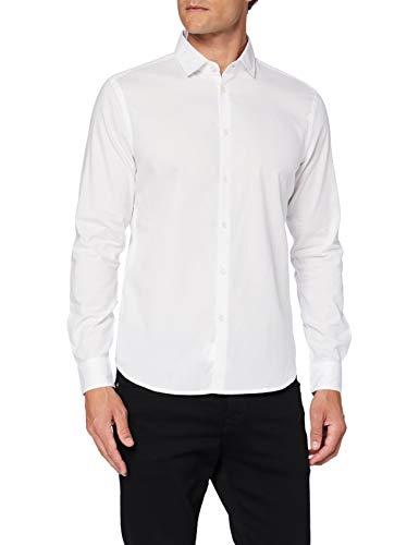 Sisley Shirt Camicia, Multicolor 901, 46 Uomo