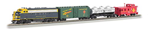 Bachmann Trains - Thunder Chief DCC Sound Value Ready To Run Electric Train Set - HO Scale