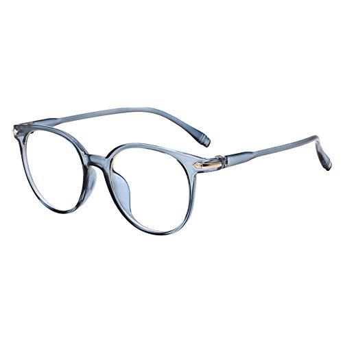 Yicare 2Stk Literarische Brille, dekorative Brille, Nicht verschreibungspflichtige Brillen, leicht und bequem