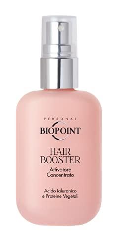 Biopoint Hair Booster Attivatore Concentrato 50 ml con Acido Ialuronico - Dona al Capello Idratazione, Lucentezza e Resistenza, Proteggendolo dallo Stress Termico