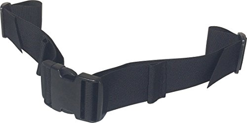 Fire Force Backpack Waist Belt Universal Fit Military Buckles Made in USA (Black, 1½' Wide)