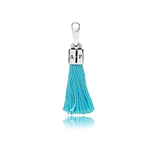 Pandora Charm Turquoise Tassel 925 Sterlingsilber 797212CTQ