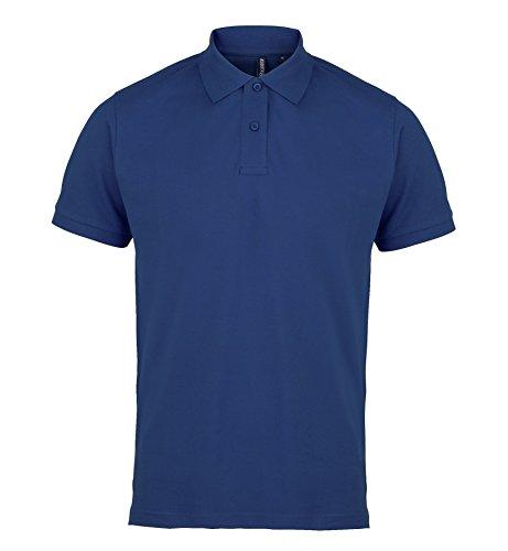 AQ010 Asquith & Fox Men's Polo Royal Blue M
