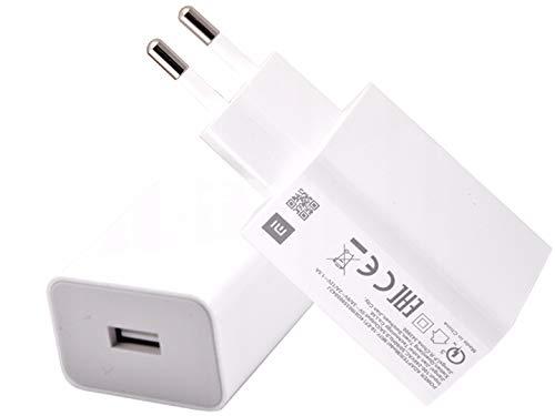 Movilux_ES Cargador Modelo MDY-10-EF (18W) Carga Rápida 3.0 más Cable USB Tipo C Compatible con Xiaomi Mi 8 SE, Redmi Note 7 Pro, Mi 9T Pro, Mi MAX 3, Blanco