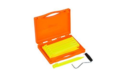 Vango Bolt Tent Pegs Set, Yellow, One Size