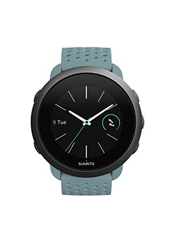 Suunto 3 2020 Edition Fitness Multi Sport Watch with Adaptive Training Guidance (Moss Grey)