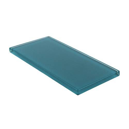 Giorbello Glasfliese Subway – Dunkles Blaugrün