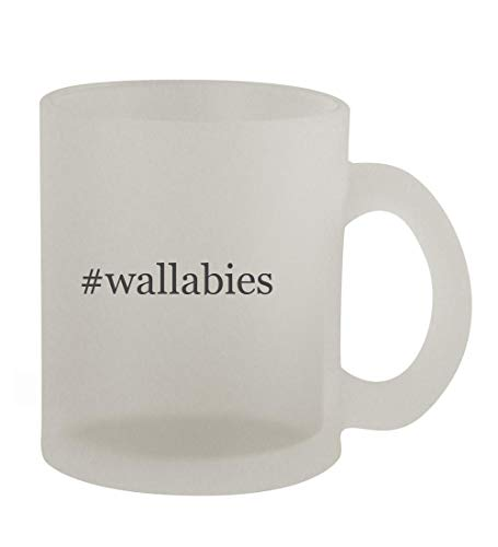 #wallabies - 10oz Hashtag Frosted Coffee Mug Cup, Frosted
