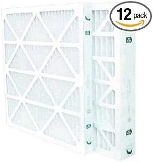 16 x 25 x 2 Merv 8 Furnace Filter (12 Pack)