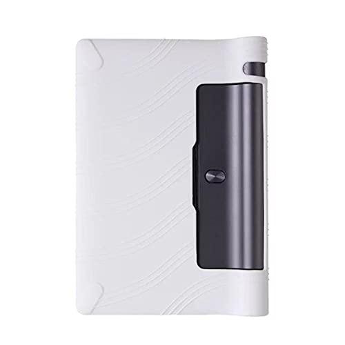 Cubierta de la Caja de la Tableta de Silicona para Lenovo Yoga TAB3 YT3 850 YT3-850F YT3-850M YT3-850M YT3-850L Shell 8'para la pestaña de Yoga 3 yt3 850f-Blanco