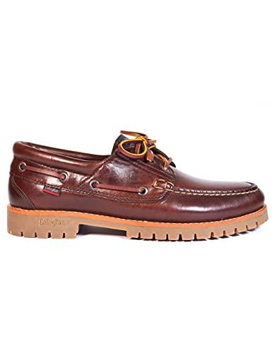 Zapatos para Hombre Fabricados en Piel Náuticos Callaghan 86400 Marrón - Color - Marrón, Talla - 40