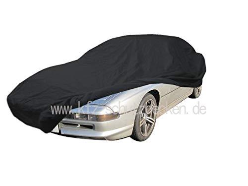 AMS Vollgarage Anti-Frost für BMW 8er (E31), wetterfeste Autoabdeckung für optimalen Frostschutz, Winterabdeckung mit Perfekter Passform, wasserfest & super leicht