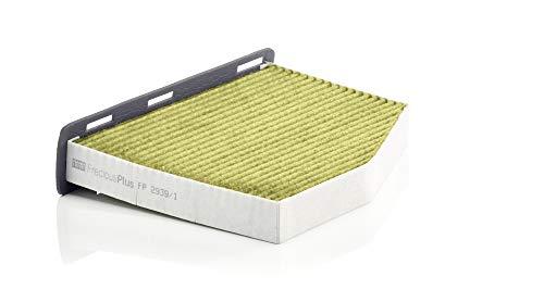 Original MANN-FILTER FP 2939/1 - FreciousPlus Biofunktionaler Pollenfilter - Für PKW