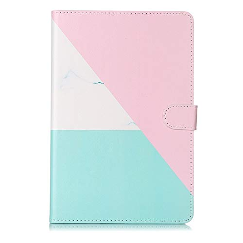 RZL PAD & TAB cases For Samsung Galaxy Tab S5e 10.5 SM-T720 SM-T725, Smart leather Marble Card slot tablets case for Galaxy Tab S5E (Color : 1)