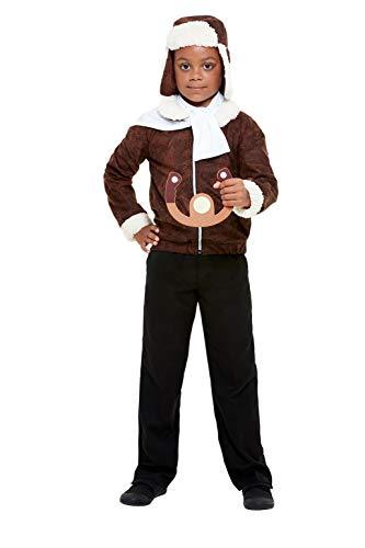 Smiffys 47745L WW1 Pilot kostuum, Unisex kinderen
