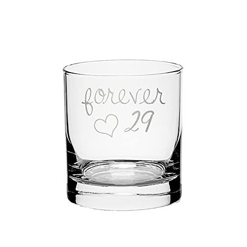 Forever 29 Whiskey Glass