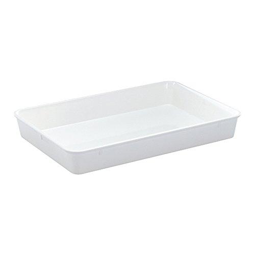 WACA® 1406-710 Auslageschale Präsentationsschale 420x280x60 mm weiß
