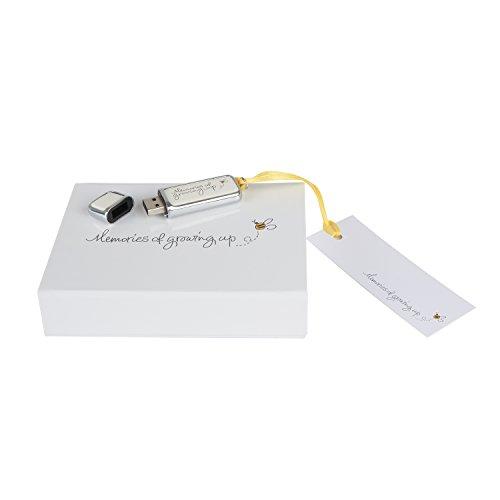 """Chiavetta USB 3.00 """"Memories of Growing Up"""" con pacchetto regalo–precaricato con cartelle e idee–32GB"""