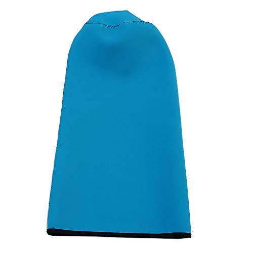 T TOOYFUL - Funda protectora de neopreno para tanque de buceo (11 L/12 L), azul celeste