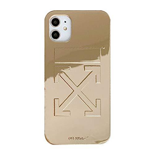 onder witte spiegel voor iphone 11 Pro case iphone x / 8 plus 7 te koop 2020, iphonexsmax, Goud