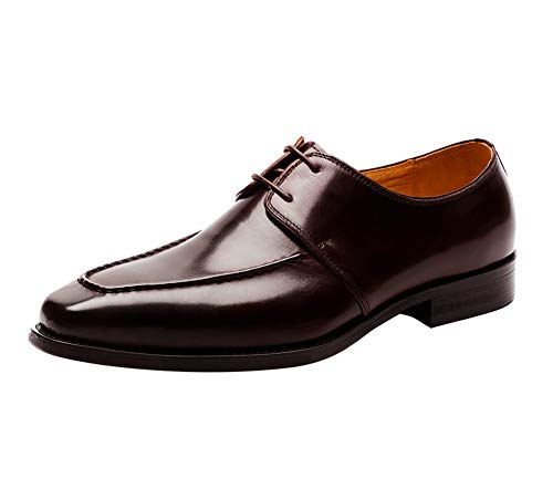 YOWAX Zapatos de Cuero para Hombre de los Zapatos con Estilo Simple...