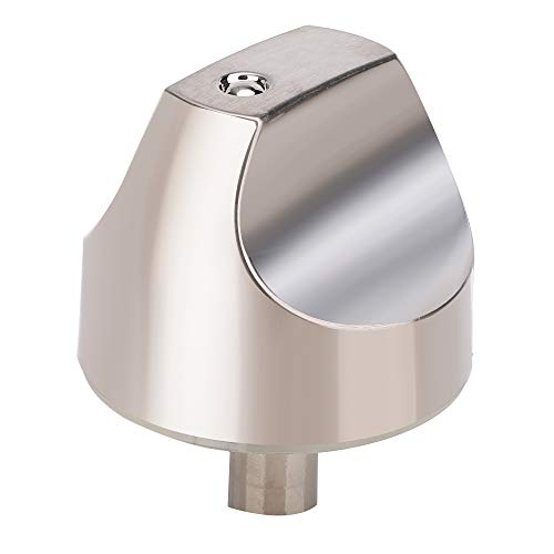 Price comparison product image WB03X32194 WB03T10329 Cooktop Burner Knob for GE Cafe Series Gas Range. Stainless Steel Range Burner Control Knob Replace WB03T10329,  WB03X25889,  WB03X32194,  4920893