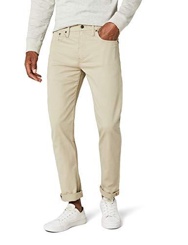 Levi's 502 Regular Taper Jeans, Beige (Punk Star/True Chino 0009), 28W / 32L para Hombre