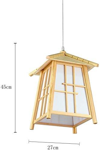 Japanse stijl kamer plafondlampen hout 27 * 45 cm