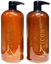 Icon India Shampoo and Conditioner Liter Duo