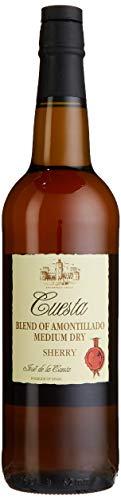 Cuesta Sherry Medium Dry Amontillado (1 x 0.75 l)