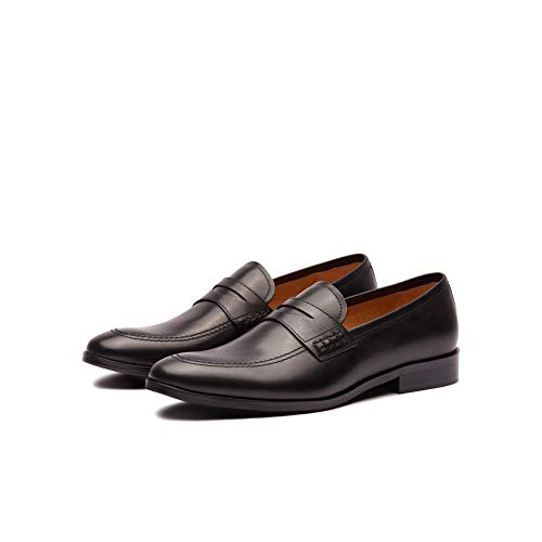 New Republic Men's Dominic Leather Loafer - Black (13)