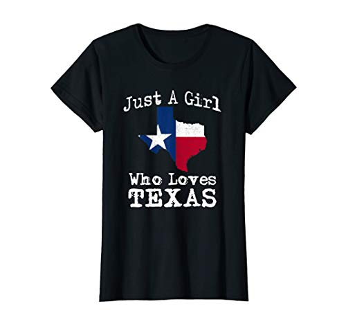 Damen Texas Outfit USA Amerika Südstaaten Shirt Geschenk T-Shirt