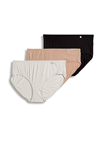 Jockey Women's Underwear Supersoft Hipster - 3 Pack, Basics, 6