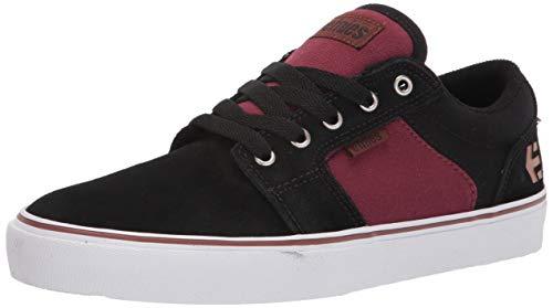 Etnies Barge LS, Zapatos de Skate Hombre, Negro, Rojo y Beige, 44 EU