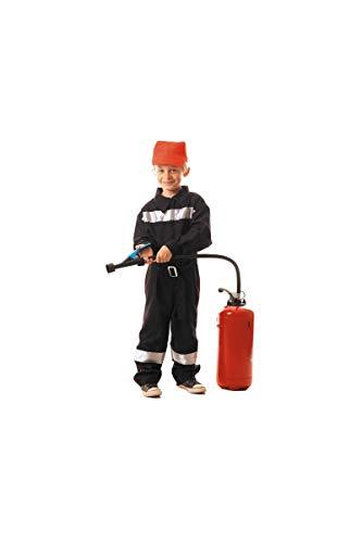 Party Pro- Pompier français Déguisement, Boys, 87117646, 4-6 ans