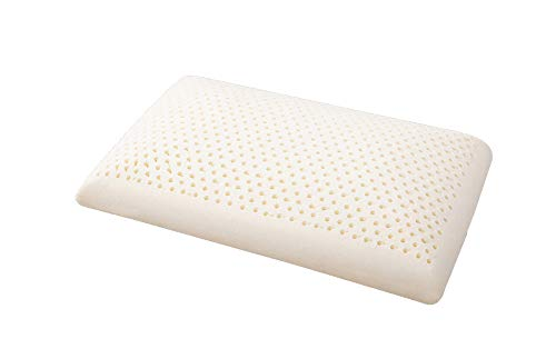 HZJS Thailand Latex Pillow Neck Support Single Cervical Pillow Three-Dimensional Bread Latex Pillow