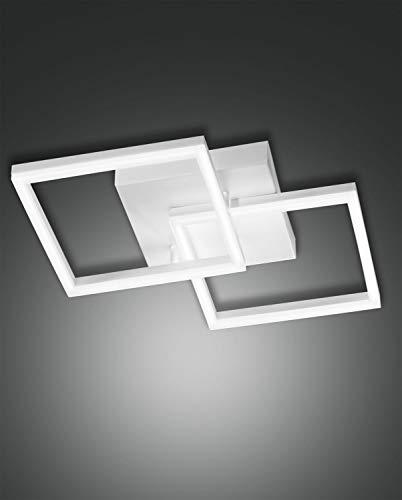 FABAS LUCE 3394-22-102 PLAFONIERA BARD LED DIM 39W 3150lm BIANCA L:45X45 cm