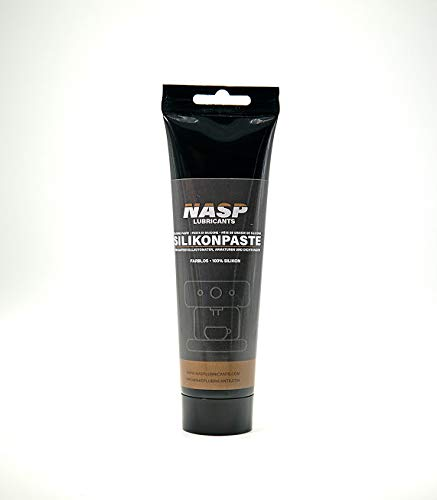 NASP 150gr Silikonfett für Kaffeevollautomaten, O-Ringe, Armaturen, Dichtungen transparent Schmierfett