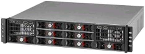 KRI RM-270 2U rackmount for Dual Mini-ITX MB, 8 x 3.5/2.5