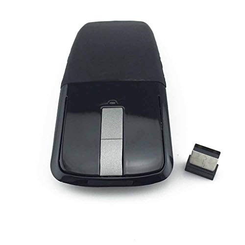 2.4Ghz Foldable Wireless Mouse Folding Arc Touch Mouse Computer Gaming Mouse Mice for PC Laptop