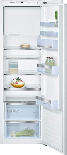 Bosch KIL82AFF0 Serie 6 Einbau-Kühlschrank mit Gefrierfach / A++ / 177,5 cm Nischenhöhe / 209 kWh/Jahr / 252 L Kühlteil / 34 L Gefrierteil / VitaFresh plus / VarioShelf