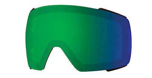 Smith I/O Mag Snow Goggle Replacement Lens (Chromapop Sun Green Mirror)