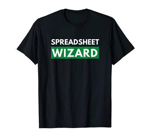 Asistente de hoja de cálculo para aquellos que sobresalen en la camisa de hojas de cálculo Camiseta