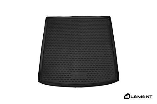 Element EXP.ELEMENT5156B12 Passgenaue Premium Antirutsch Gummi Laderaumwanne Kofferraumwanne für VW Golf 7 VII Variant Kombi - Jahr: 13-21, Schwarz, Passform