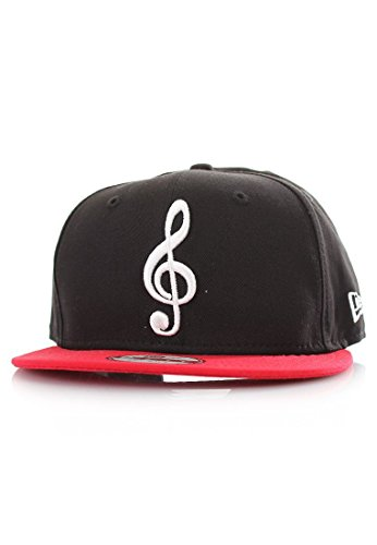 New Era - Casquette Snapback Homme 9Fifty The Clef - Black/Scarlet - Taille S/M