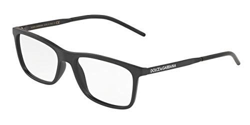 Dolce & Gabbana LOGO DG 5044 MATTE BLACK 53/17/145 men Eyewear Frame