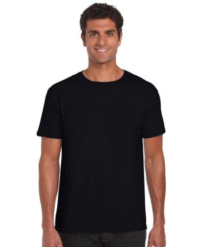 Gildan Softstyle TM Adult Ringspun T-Shirt Schwarz 2XL XXL,Schwarz
